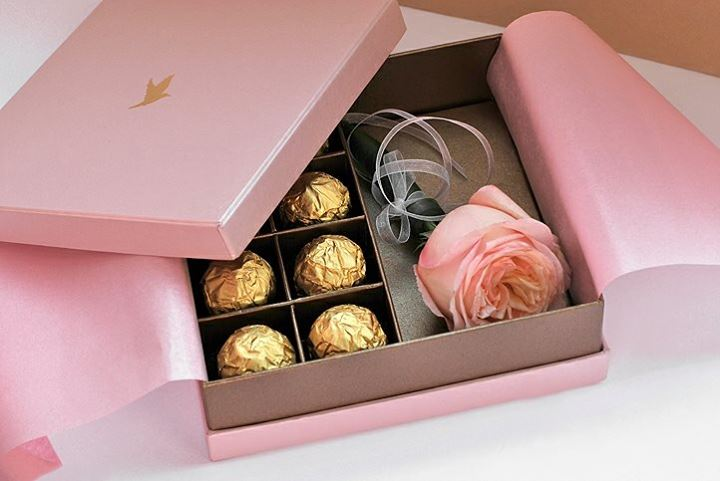 Подарки в коробке конфет своими руками